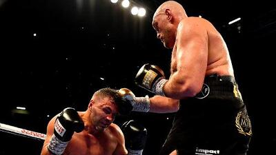 Pánico en los pesos completos: Tyson Fury regresó con triunfo en Manchester