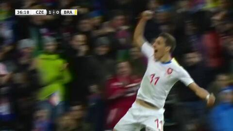 ¡GOOOL! David Pavelka anota para Czech Republic