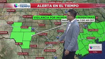 Seguirá parcialmente nublado en el centro de Texas hasta este jueves