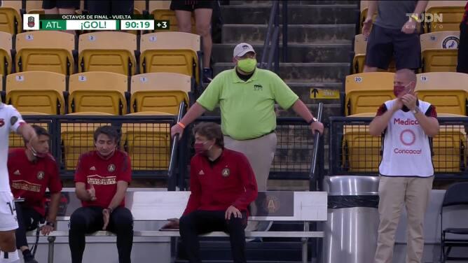 ¡GOL!  anota para Atlanta United FC. Jürgen Damm