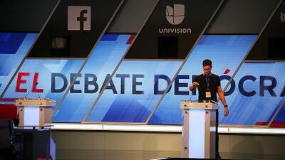 Univision y ABC News realizarán el tercer debate de los precandidatos demócratas