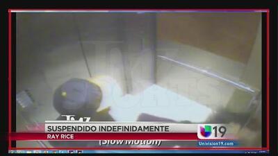 Video muestra la agresión de Ray Rice a su esposa
