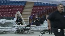 Estadio en Sacramento convertido en hospital solo atendió a nueve pacientes de coronavirus