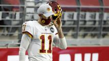 Alex Smith se queda fuera de Washington