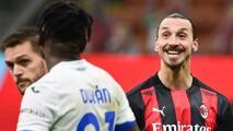 Zlatan siendo Zlatan: Así troleó a Duván Zapata en pleno partido