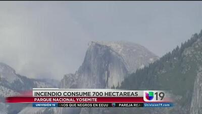 Yosemite bajo fuego
