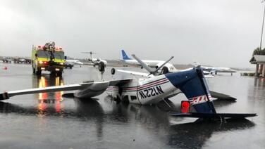Tornado ocasiona apagón y daños en Tallahassee: cierran el aeropuerto