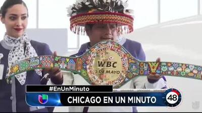 Contacto Deportivo Chicago en un minuto: ¿Por qué Canelo no aceptó el cinturón huichol?