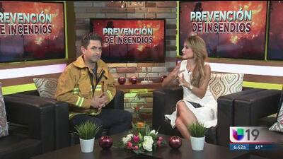 Recuperan el cuerpo de un bombero que combatía el incendio en Ferguson