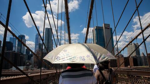 Alerta por mala calidad de aire y altas temperaturas durante esta semana en Nueva York