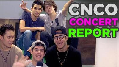 CNCO Concert report with a special guest