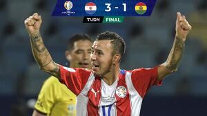 En cinco minutos, Paraguay resolvió el partido ante Bolivia