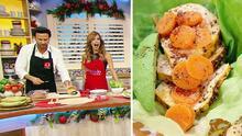 Karla no lo podía creer, hoy cocinó junto al Chef Oropeza sus famosos Tacos de Pollo al Achiote