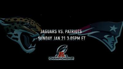 Movie Trailer: Jaguars vs. Patriots, AFC Championship Game