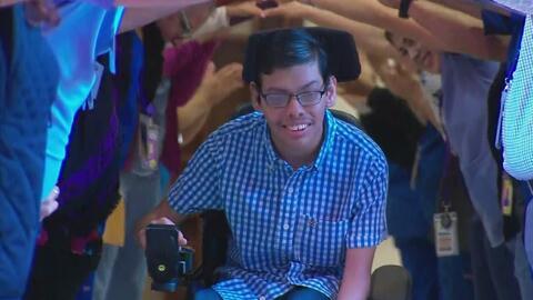 CRIT USA de San Antonio realiza la graduación de su primer paciente