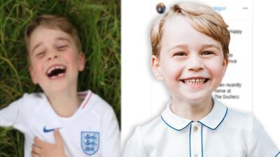 Critican de excluyente la foto que recientemente Kate Middleton le tomó al príncipe George para su cumpleaños