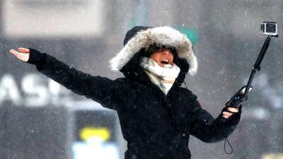 En fotos: La última gran tormenta de nieve de esta temporada en el noreste de EEUU