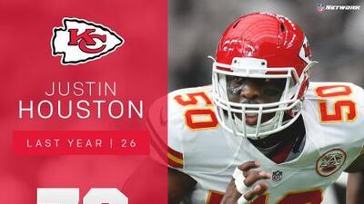 #76: Justin Houston (LB, Chiefs) | Top 100 jugadores 2017