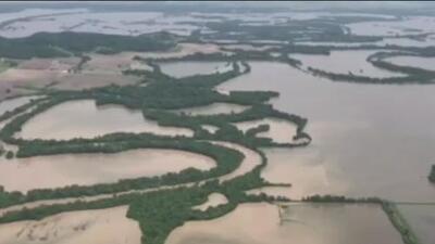 Te explicamos cómo afectan las inundaciones a la agricultura y la economía de EEUU