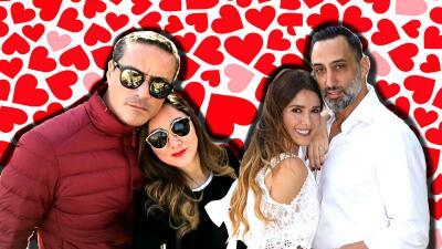 Flechados por Cupido: los apasionados romances de los actores de telenovela en 2017