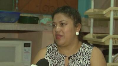 La llamada 'Lady Frijoles' debuta como presentadora de televisión en Honduras tras haber integrado la caravana de migrantes