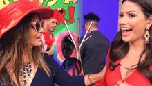 Detrás de cámaras: así reaccionó Myriam Hernández al enterarse de que Ana Patricia está embarazada