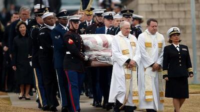 La última morada del expresidente George H.W. Bush