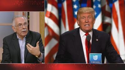 Analizando el discurso de aceptación de la candidatura presidencial de Donald Trump