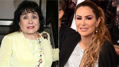 Carmen Salinas asegura que Ninel Conde y Giovanni Medina se reconciliaron por esta razón