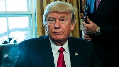 El presidente Trump estimó que la reforma del Obamacare podría aplazarse hasta el 2018