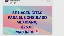 Denuncian que personas cobran por hacer citas en el Consulado de México en Raleigh