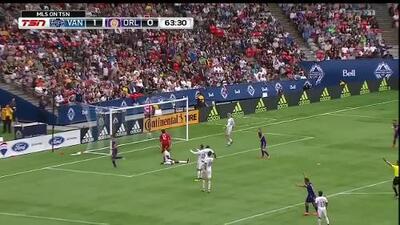 Sacha Kljestan quema las redes con hermosa jugada de Josué Colman, Orlando empata a Vancouver 1-1