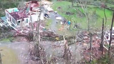 Las impactantes imágenes de destrucción tras el paso de tornados por Alabama