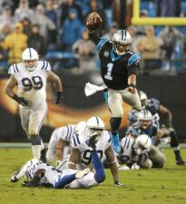 Las mejores imágenes del Colts vs. Panthers