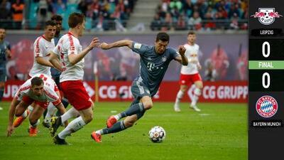 ¡La fiesta bávara deberá esperar!: Bayern Múnich no pudo con Leipzig y dejó escapar el título