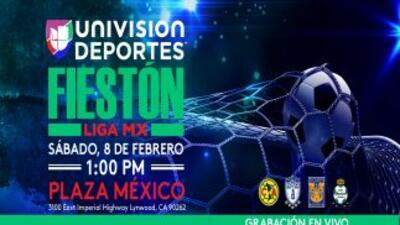 Regresa el gran Fieston de la Liga MX a Los Angeles con Univision Deportes