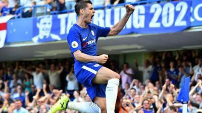 Cesc Fábregas y Morata dan la victoria al Chelsea sobre el Everton
