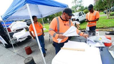 Alcalde Giménez trabaja con contratistas para determinar qué se necesita ante la llegada de Dorian