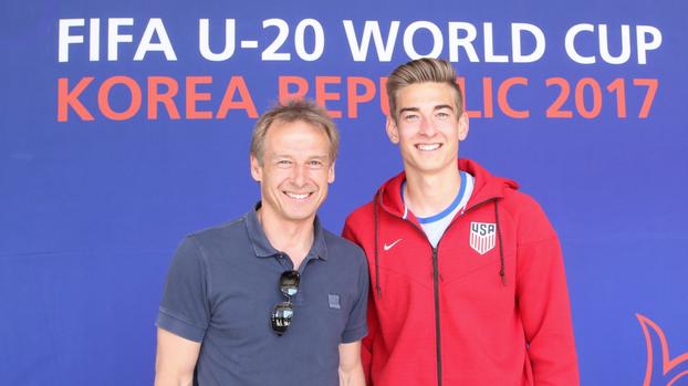 Jonathan, el hijo de Klinsmann que se interpone entre Venezuela y las semifinales