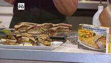 """Sándwich Integral de Manzanas en """"Maple Syrup"""" con Bistec de Pollo Empanado Premium La Aguadillana"""
