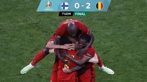Bélgica deja a Finlandia 'en la lona' y avanza a Octavos de Final