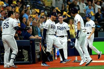 En fotos: Tampa Bay Rays empata la serie 2-2
