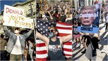 """""""Donald, estás despedido"""": miles salen a las calles de San Francisco a celebrar la victoria de Joe Biden y Kamala Harris"""