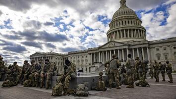 Washington DC está en alerta máxima y blindada ante la amenaza de protestas violentas