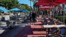 Las terrazas de restaurantes improvisadas en calles de Miami-Dade tendrán que cerrar: evalúan opciones