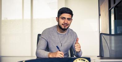 Sergio Díaz ya firmó con las Águilas del América