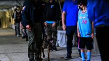 La NBA usa perros para detectar contagiados de Covid