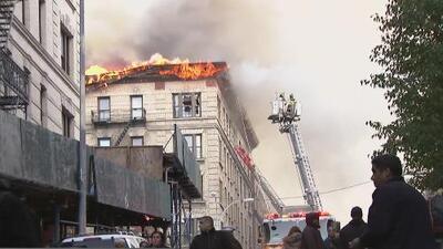 Arrestan al sospechoso de causar un incendio que dejó 150 desplazados en Manhattan