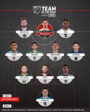 Zlatan encabeza el Equipo de la Jornada plagado de gratas sorpresas de Philadelphia y Minnesota