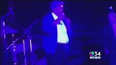 Cantante mexicano muere en pleno escenario en Baja California